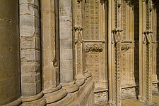 Exterior detail, Lincoln Cathedral, Lincoln, Lincolnshire, England - 12080-20-1