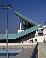Swimming Pool with flood lighting, Temasek Polytechnic, Singapore, 1991 - 1995 - 7440-460-1