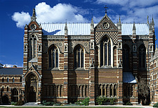 The Chapel, Keble College, Oxford University, Oxford, 1867 - 1883 - 11496-180-1